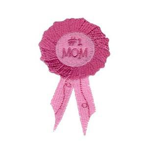 #1 Mom Ribbon Embroidery Designs:CD041706TL